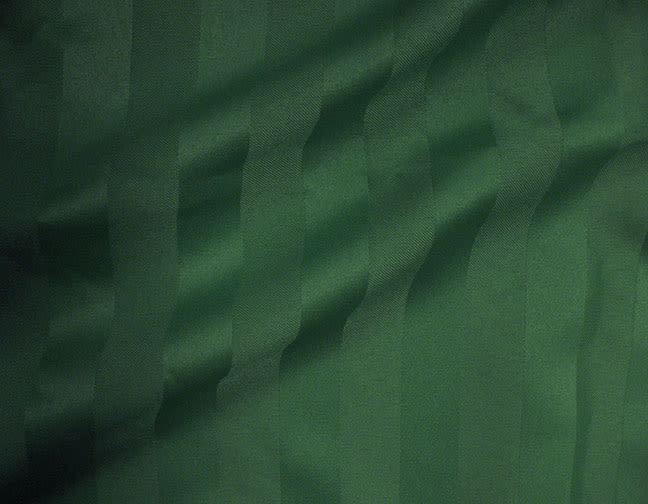 Stuart-Event-Rentals-Linen-Satin-Stripe-Hunter-Green