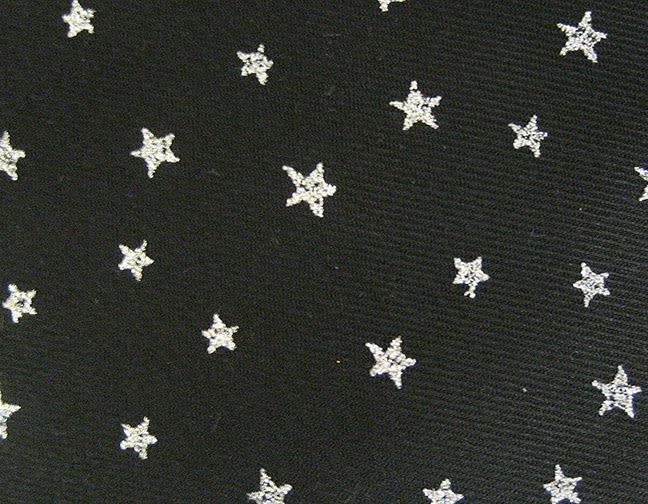 Stuart-Event-Rentals-Linen-Stars-Silver-on-Black