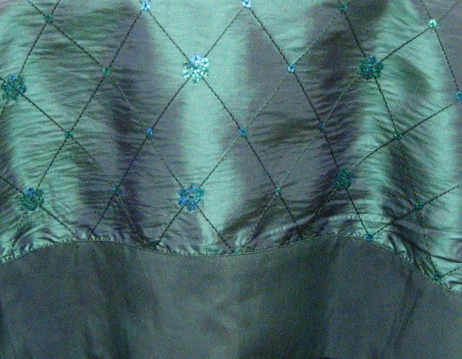 Stuart-Event-Rentals-Linen-Taffeta-with-Sequins-Teal