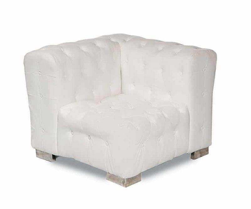 Furniture Astoria Corner White