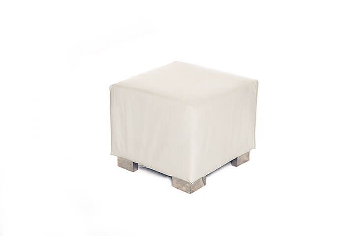 Peachy Manhattan Cube Ottoman White Creativecarmelina Interior Chair Design Creativecarmelinacom