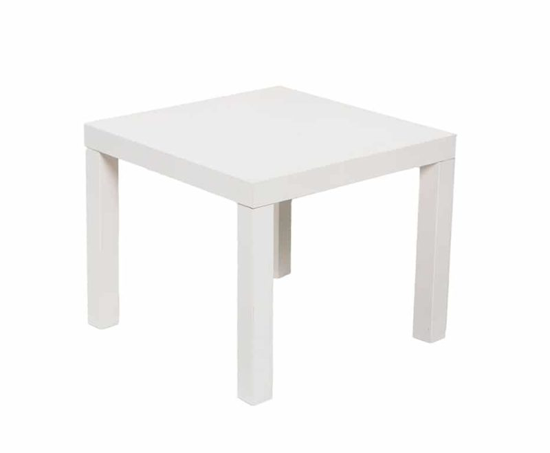 Furniture White End Table