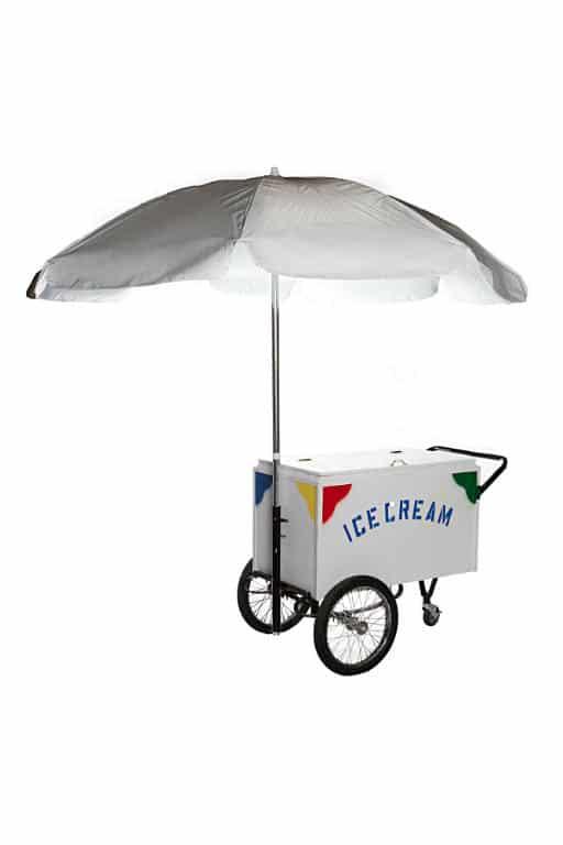 Ice Cream Cart with Canopy