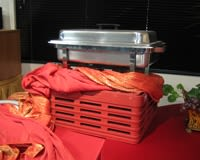Stunning Red and Orange Buffet_2