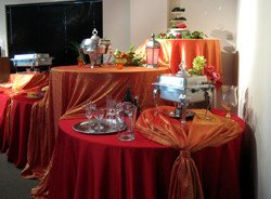 Stunning Red and Orange Buffet_5