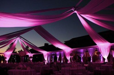 party lighting for wedding