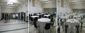 Teen Center Transformed for Green and White Wedding _1_2_3