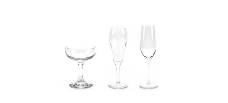 Traditional - Champagne Glasses