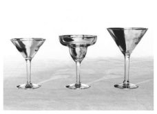 Traditional - Martini & Margarita Glasses - Copy
