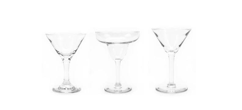 Traditional - Martini & Margarita Glasses