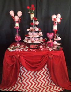 Valentine's Day Event Rentals There's Always Time for Chocolate and Flowers_3