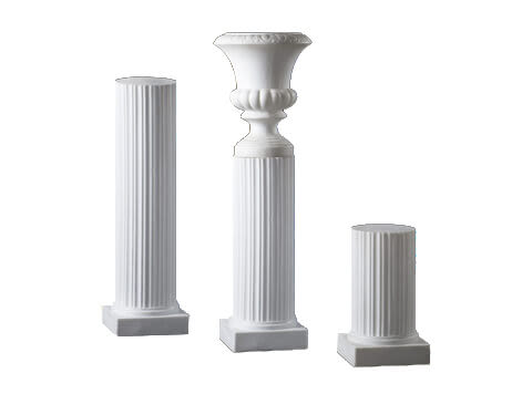 White Columns and Urns