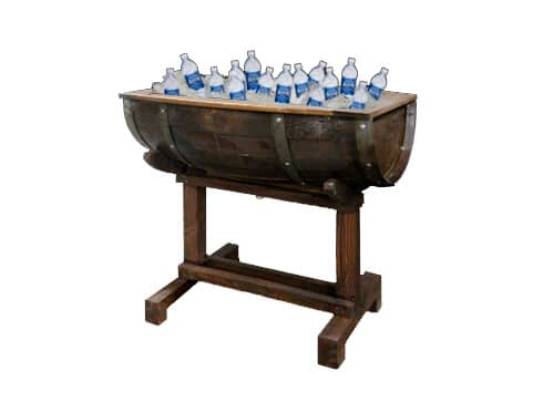 Wine Barrel Beverage Cooler - NEW!
