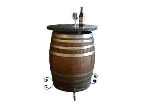 Wine Barrel Cocktail Table (Final) 2