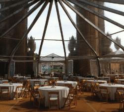astroturf under tent