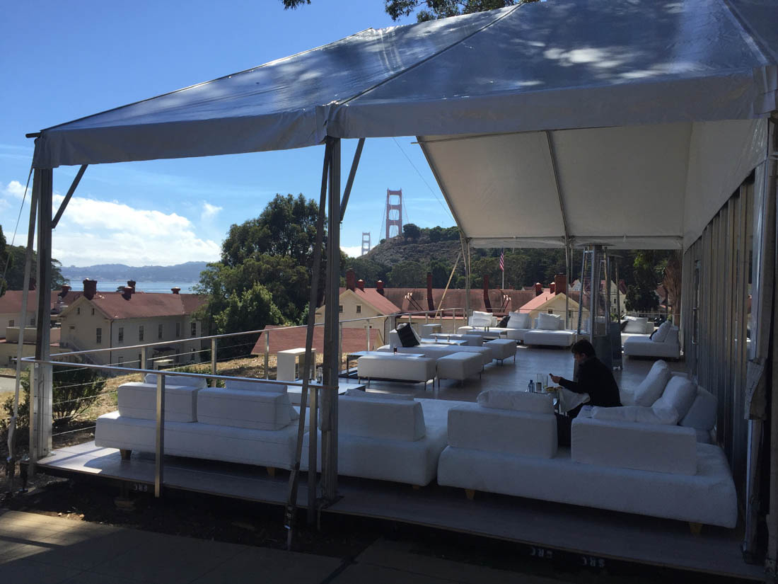 Cavallo Point & Cliffside Soiree | Stuart Event Rentals