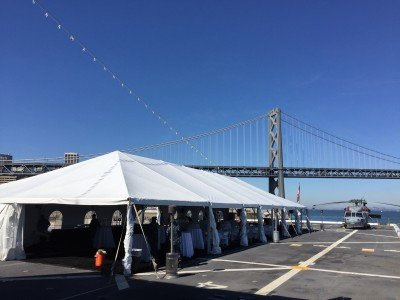 san francisco party tent rental