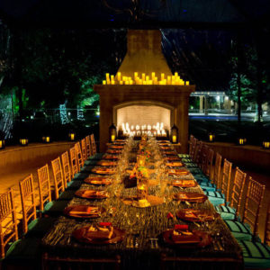stuart rentals iconic dinner party