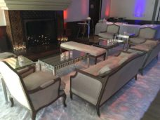 Stuart-Event-Rentals-Furniture-Monarch-Mirrored-Coffee-Table-In-Use