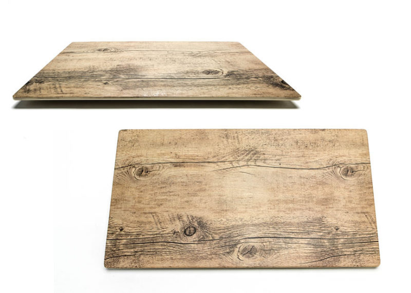 Stuart-Event-Rentals-Ceramic-Tray-with-Wood-Design