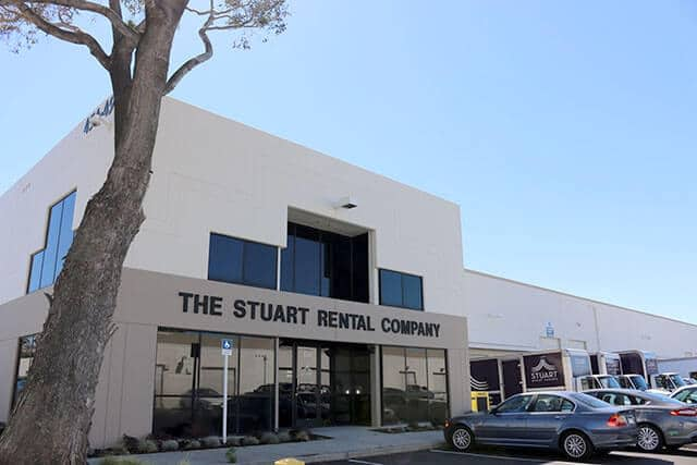 stuart event rentals south bay showroom