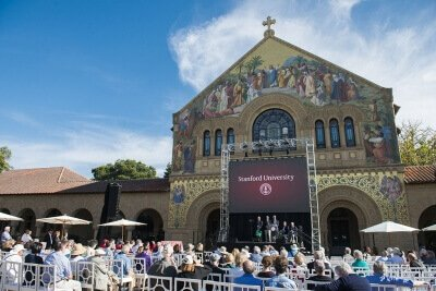 Stanford University Honorary ceremony