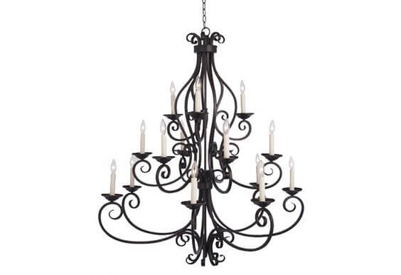 Tuscan wrought iron chandelier stuart event rentals tuscan wrought iron chandelier aloadofball Gallery