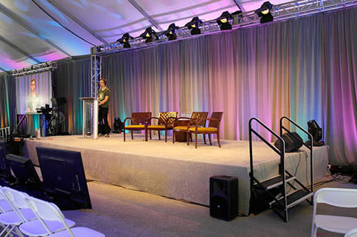 bay area conference and convention rental services