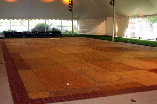 bay area dance floor and flooring rentals