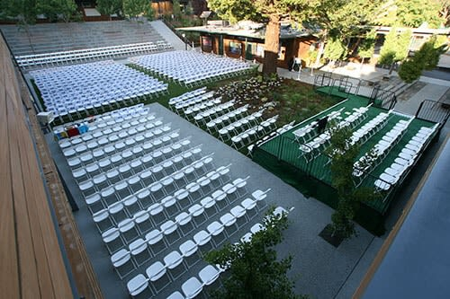 rentals for school events and graduation ceremonies