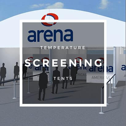 temperature screening tents