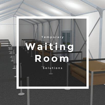 temporary waiting room solutions